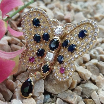 INEL VICTORIAN BUTTERFLY RING
